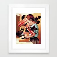 Next Door Framed Art Print