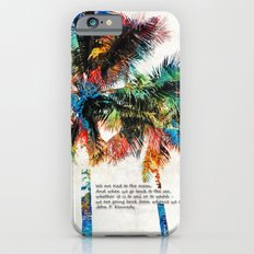 Colorful Palm Trees - Returning Home - By Sharon Cummings Slim Case iPhone 6s