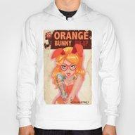 Oranges Bunny PIN UP Mag… Hoody