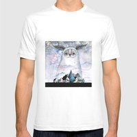 Night creature Mens Fitted Tee White SMALL