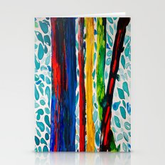 Rainbow Eucalyptus Graffiti Artist Tree naturally shedding bark from the South Pacific Stationery Cards
