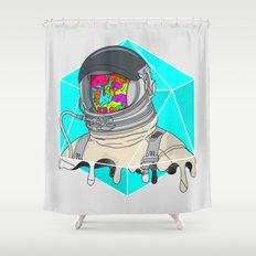 Psychonaut - Light Shower Curtain