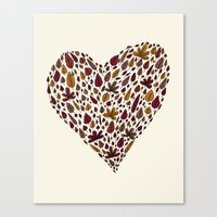 Lovely leaves Canvas Print