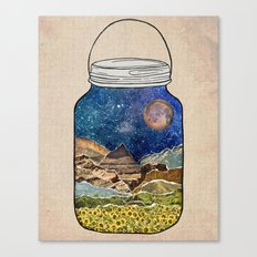 Star Jar Canvas Print