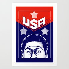 Anthony Davis, USA Art Print