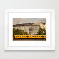 STREETART :: BERLIN :: GERMANY by Jay Hops Framed Art Print