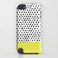 Polka Dot Rain Dip iPod touch Slim Case