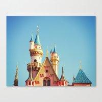 Disneyland Canvas Print