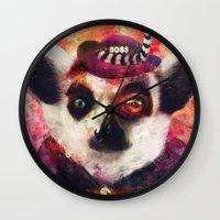 Lemur ( The Pimp Le-Mur … Wall Clock
