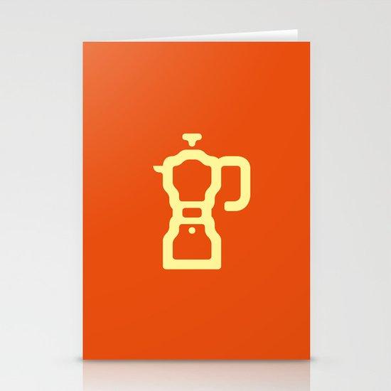 Coffee: The Percolator Stationery Card