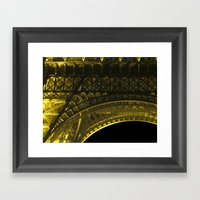 Under The Tower Framed Art Print