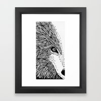 Wolf Like Me Framed Art Print