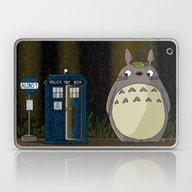 Allons-y Totoro Alternat… Laptop & iPad Skin