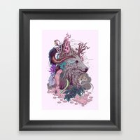 Forest Warden Framed Art Print