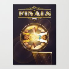 NBA Finals 2015 Canvas Print