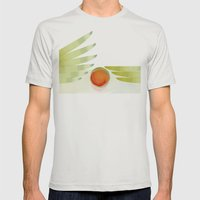 green 2 | digital sessions Mens Fitted Tee Silver SMALL