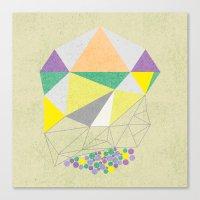 Gemstone Canvas Print