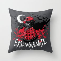 Exsanguinate! Throw Pillow