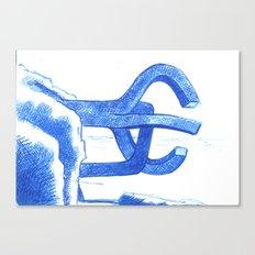 peine de los vientos Canvas Print