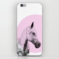 speckled horse iPhone & iPod Skin