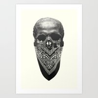 Original Gangsta  Art Print