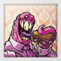 Lunch! - Monster Canvas Print