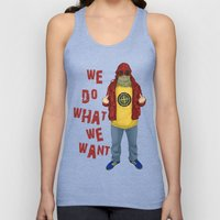 We Do What We Want Unisex Tank Top