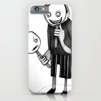 iPhone & iPod Case featuring 2 faced by Richard J. Bailey