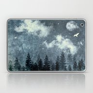 Laptop & iPad Skin featuring The Cloud Stealers by HappyMelvin
