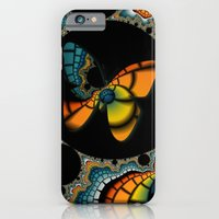 iPhone & iPod Case featuring Fractal Cacoon by Christy Leigh