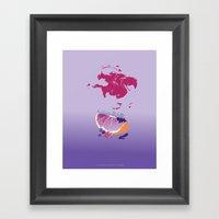 Sences Tangerine Jelly P… Framed Art Print