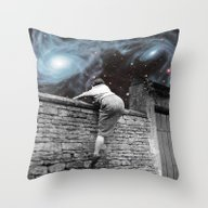 Throw Pillow featuring Other Side by Eugenia Loli