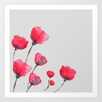 POPPIN' POPPIES  Art Print