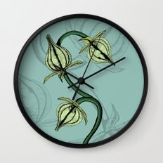 Buds Full Color Wall Clock