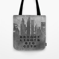 Bright Lights Big City Tote Bag