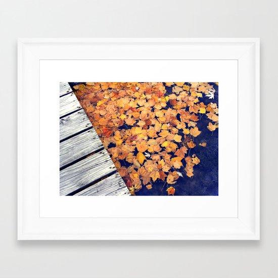 Float II Framed Art Print