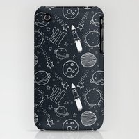 iPhone Cases featuring Space Doodles by Tracie Andrews