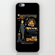 Nello Spazio iPhone & iPod Skin