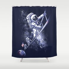 July 1969 Shower Curtain