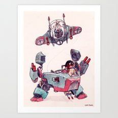 The Dog Brothers Art Print