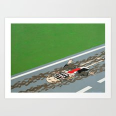 drive with care Art Print