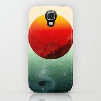 Galaxy S4 Cases featuring In the end, the sun rises by Budi Kwan