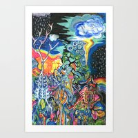 The Elements Art Print