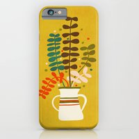 iPhone & iPod Case featuring Potted Leaves by Budi Kwan