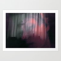 Calm in our haven Art Print