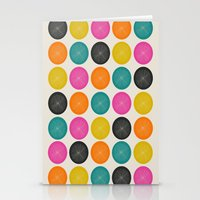 Circles 3 Stationery Cards