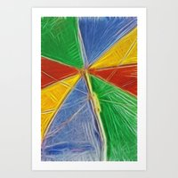 Summertime Shade Art Print
