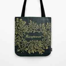 Microfarmer - Gold Tote Bag