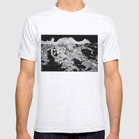 Swallowed By The Sea Mens Fitted Tee Ash Grey SMALL