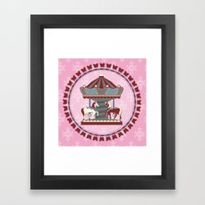 Merry Go 'Round Framed Art Print